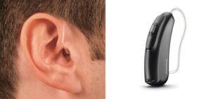 BTE (Behind the Ear) Micro Hearing Aid